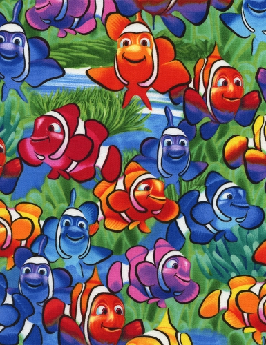 Timeless Treasures Fabric-Clown Fish-Michael-C1824-Multi.jpg